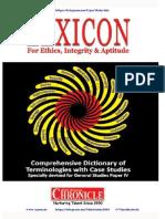 Lexicon Ethics 2015