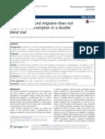 jurnal migrain