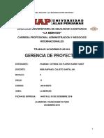 Trabajo Academico Gerencia de Proyectos