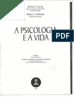 Gerrig - A Psicologia e a Vida