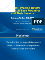 MR Imaging Review of the Skull Base Foramina.ppt