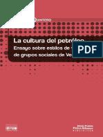 Quintero, Rodolfo - La cultura de petroleo