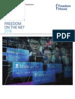 Libertad de internet 2018