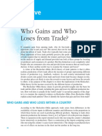 Who Gain and Who Loses from Trade?