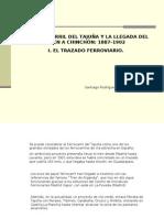 TRAZADO DEL FERROCARRIL DEL TAJUÑA