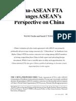 ASEAN FTA CHINA