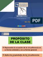 2. La Circunferencia (1)