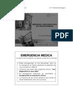 Emergencia Endocrinoligica en La Atencion Primaria