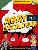 Mcc Warehouse Sale Nov Abaya Catalogue