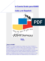 Creacion de Cuenta Gratis Para AS400