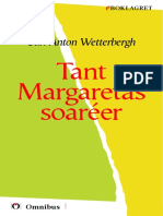 Carl Anton Wetterbergh - Tant Margaretas Soaréer [ Prosa ] [1a Tryckta Utgåva 1854, Senaste Tryckta Utgåva 1872, 145 s. ]