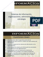 3. Sistemas de Información, Organizaciones, Administración y Estrategia