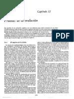Pruebas de la Evolución- Libro Biología de J. Claude Ville