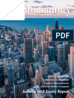 Promontory Investment Research Fall 2018