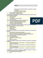 Test 31 Preguntas Habituales Constitución General 3 Vuelta Con Preguntas Oficiales