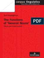 (English Corpus Linguistics 17) Vera Benninghoven - The Functions of 'Gener
