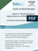 ELECTROANALGESIA SESION 4