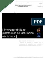 INTEROPERABILIDAD FACTURACIÓN ELECTRÓNICA COLOMBIA 2018