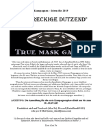 Dreckiges Dutzend - True Mask Games Kampagnen 2019