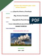 Marco Teórico-contaminación Del Aire