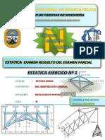 Estatica ..Examen Resuetlo Unh Civil-lircay Ejercico Nº1