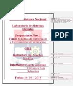 Informe 1 Sistemas Digitales
