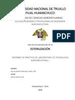 Informe de Laboratorio_ Esterilizacion de Conservas