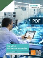 TIA V15.1 Resumo de inovações
