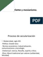 Milenarismo, Movimientos Sociales y Culto Mariano