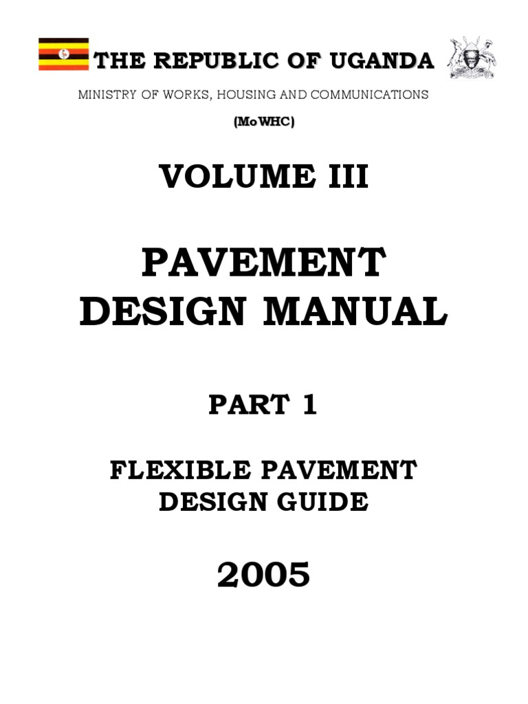 Flexible pavement design manual part i first part road surface road fandeluxe Images