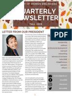 2018 Fall Newsletter