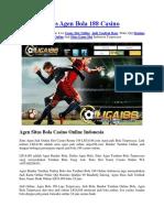Situs Agen Bola 188 Liga Indonesia