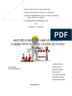 Trabajo de Mantenimiento Gnral de Obras