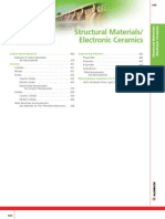 Structural Material, Electronic Ceramics