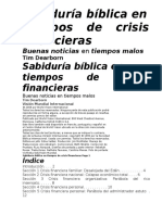 Estudio Bilbico de La Crisis Financiera