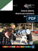 Ciencia abierta. Reporte para tomadores de decisiones