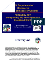 DOC - Inspector General - BTOP Audit Presentation - 2009