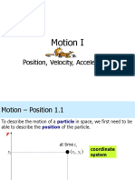Lecture 1 Motion I - Position_ Velocity_ Acceleration (Week 01_ 02).ppt