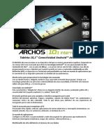 A101IT Spec Sheet Es