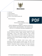 Surat Edaran Tenaga Verifikator Internal Di Fasilitas Kesehatan Rujukan Tingkat Lanjutan