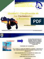 Unidad i.clasificacion de Yac y Reservas 2008aaa