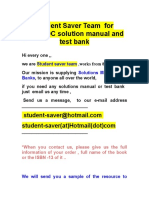 Test Banks and Solution Manual for eBooks 2018-2019