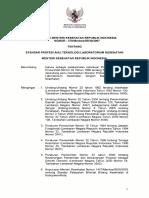 KMK No. 370 ttg Standar Profesi Ahli Teknologi Laboratorium Kesehatan 1.pdf