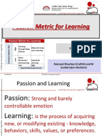 Passion Metric for Learning