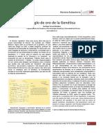 El Siglo de Oro de La Genetica Eubacteria34