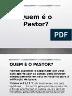 Quem é o Pastor