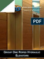 Roped Hydraulic Elevator