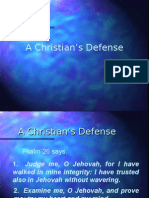 A Christian's Defense (Devotional)