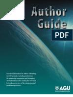 AGU Author Guide
