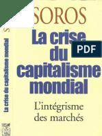 La Crise Du Capitalisme Mondial George Soros